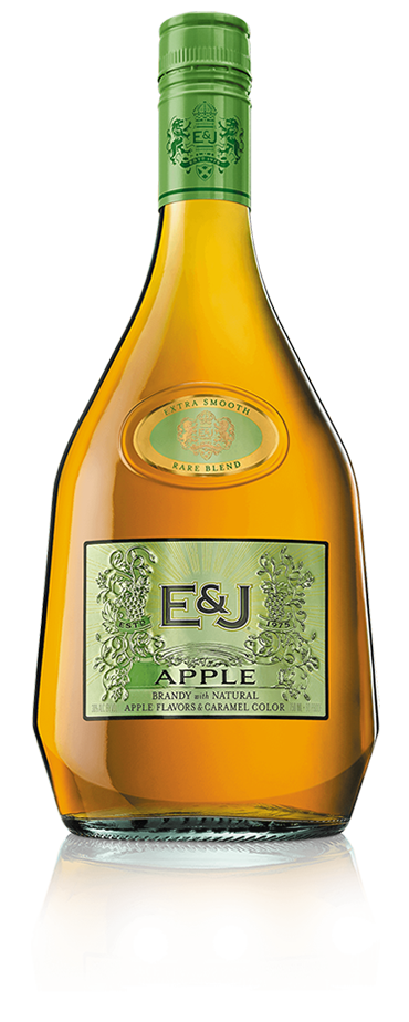 Bottle of E&J Apple