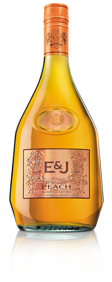 Bottle of E&J Peach
