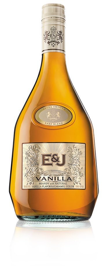 Bottle of E&J Vanilla