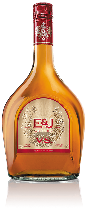 Bottle of E&J VS