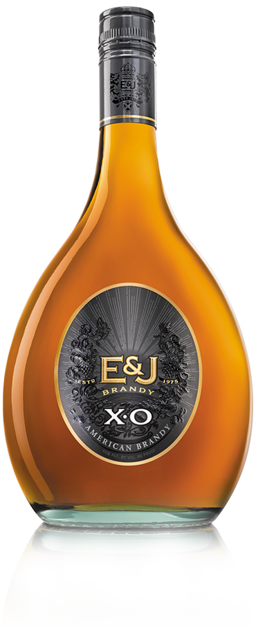 Bottle of E&J XO